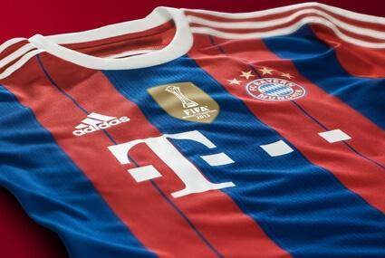 Domowa koszulka Bayernu na sezon 2014/15