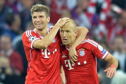 Thomas Mueller i Arjen Robben