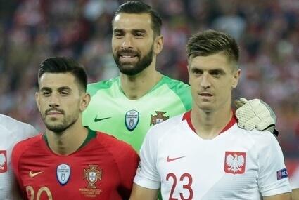 Bernardo Silva, Rui Patricio i Krzysztof Piątek