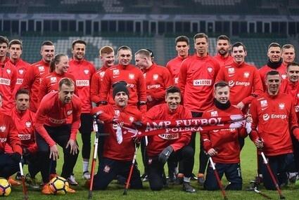 Piłkarze reprezentacji Polski ampfutbolu