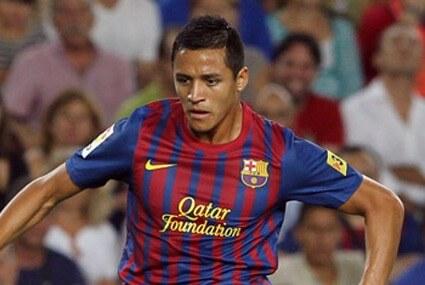 Alexis Sanchez w barwach Barcelony