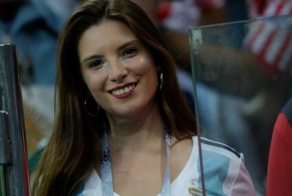 Fanka reprezentacji Argentyny