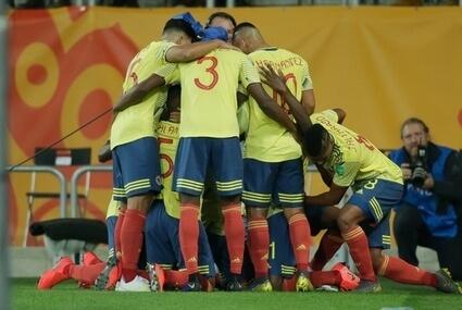 Piłkarze reprezentacji Kolumbii na MŚ U-20