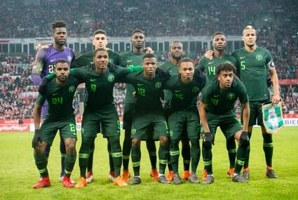 Piłkarska reprezentacja Nigerii