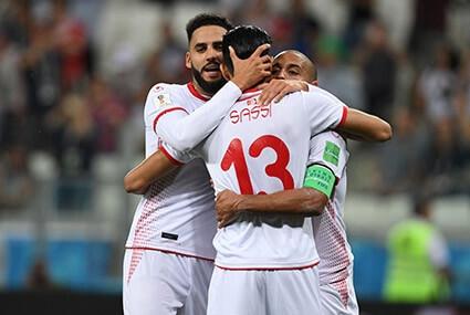 Piłkarze reprezentacji Tunezji