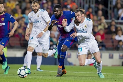 Samuel Umtiti i Gareth Bale