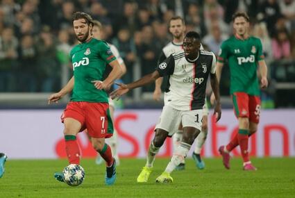 Juventus FC - Lokomotiw Moskwa