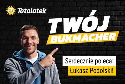 Łukasz Podolski ambasadorem Totolotka