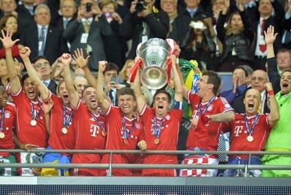 Bayern Monachium z Pucharem Europy