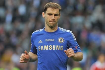 Branislav Ivanović w barwach Chelsea