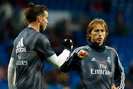 Gareth Bale i Luka Modrić
