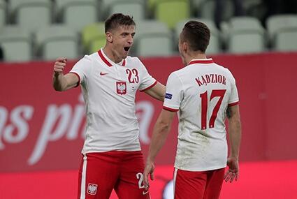 Krzysztof Piątek i Damian Kądzior