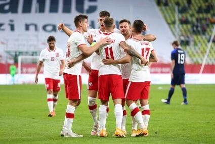 Reprezentacja Polski w meczu z Finlandią