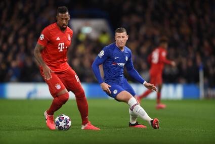 Jerome Boateng w meczu przeciw Chelsea