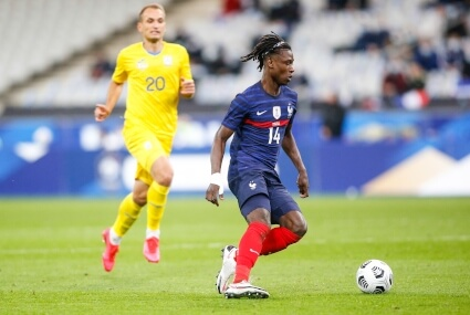 Camavinga w barwach Francji
