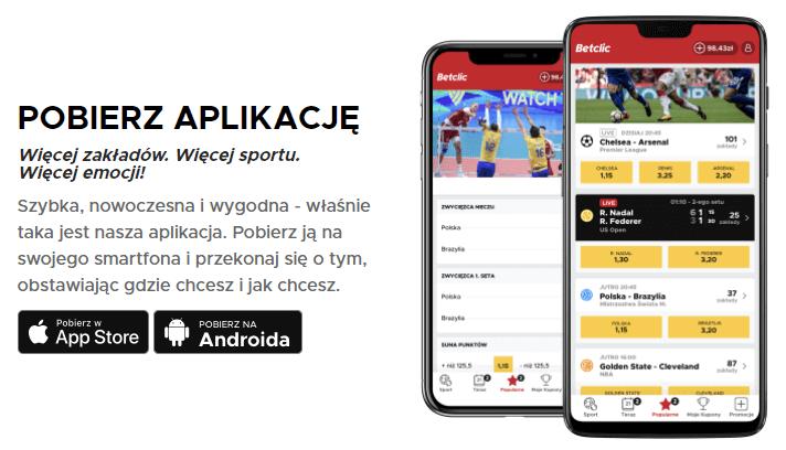 betclic - pobierz aplikację