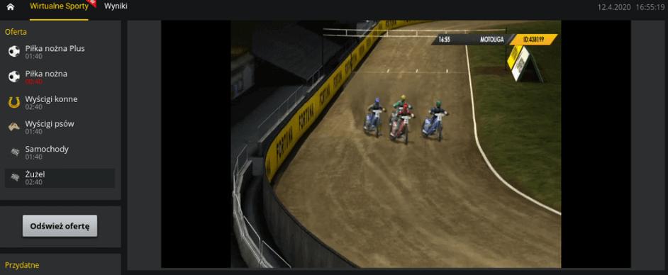 Fortuna sporty wirtualne