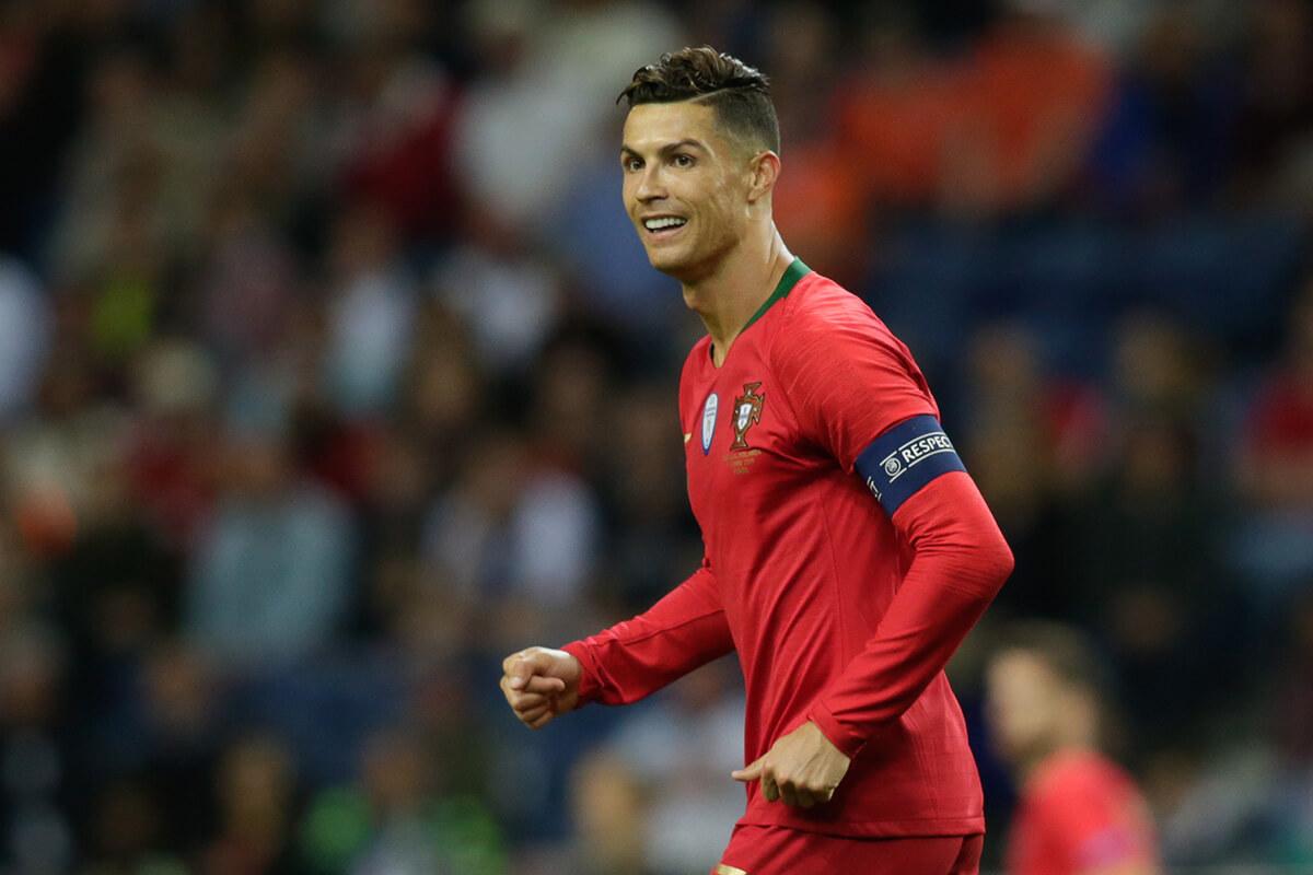 Cristiano Ronaldo z nowym rekordem w kadrze Portugalii - Goal.pl