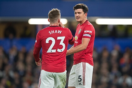 Luke Shaw i Harry Maguire