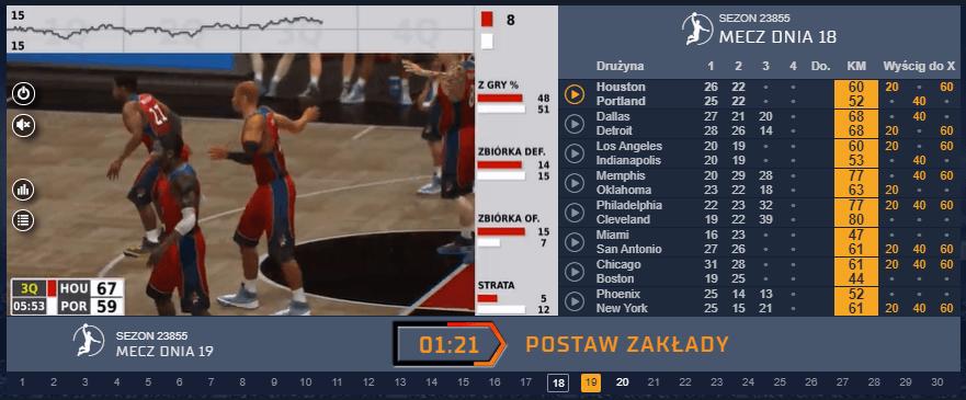 Wirtualna koszykówka