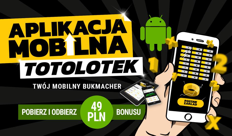 totolotek mobile - aplikacja mobilna