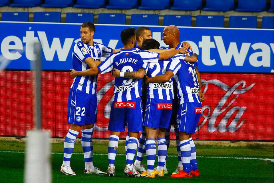 Piłkarze Deportivo Alaves