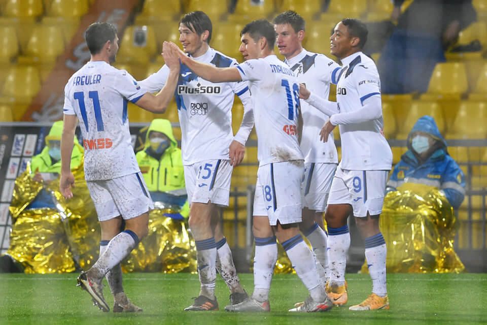 Piłkarze Atalanty Bergamo