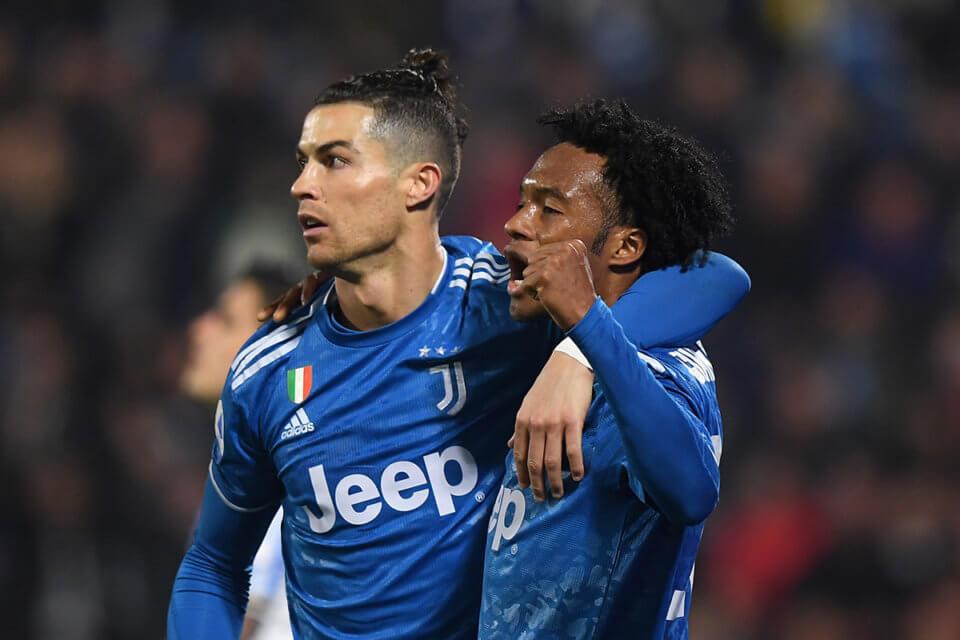 Cristiano Ronaldo i Juan Cuadrado