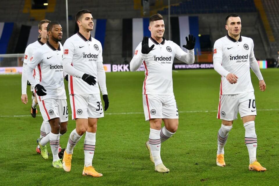 Piłkarze Eintrachtu Frankfurt
