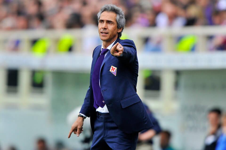 Paulo Sousa jako trener Fiorentiny