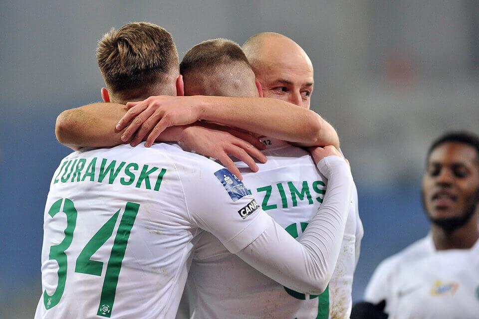 Piłkarze Warty Poznań