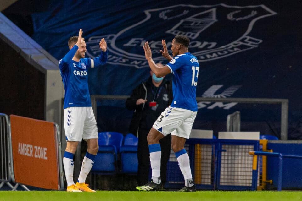 Zawodnicy Evertonu