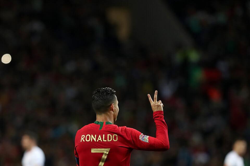 Cristiano Ronaldo Portugalia