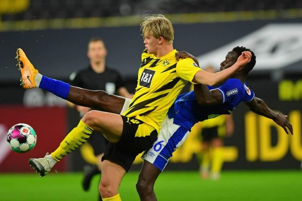 Erling Haaland w barwach BVB