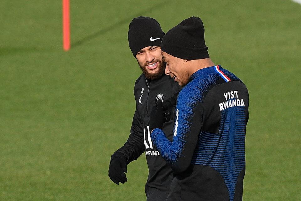 Neymar Jr i Kylian Mbappe