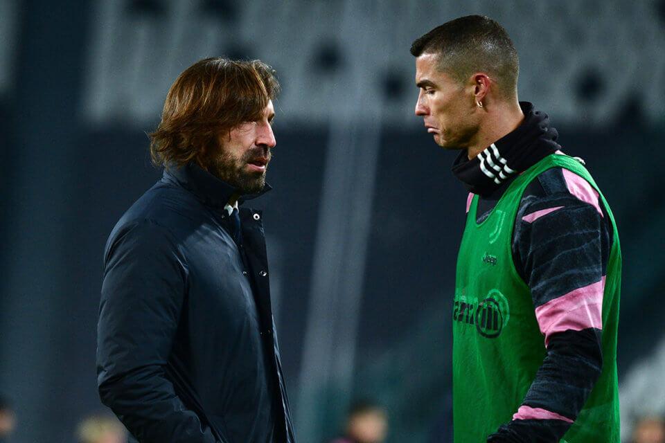 Andrea Pirlo i Cristiano Ronaldo