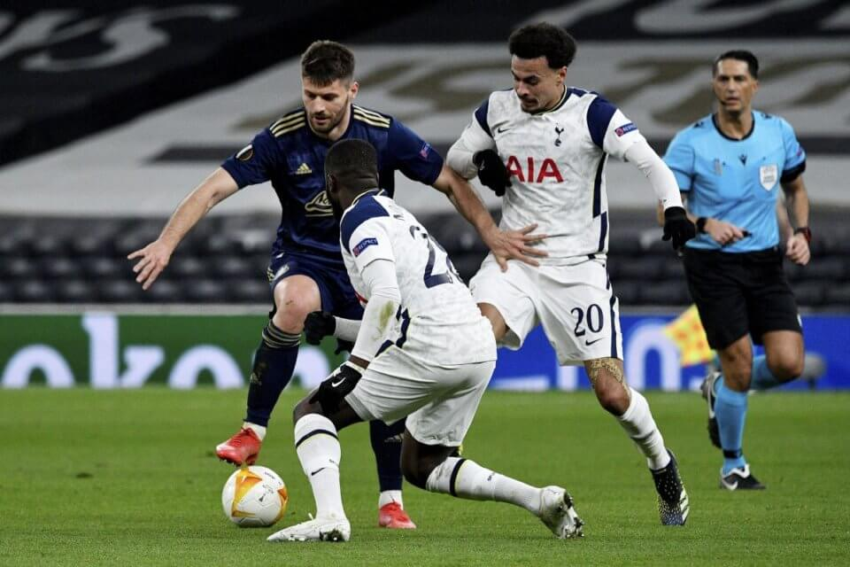 Tottenham - Dinamo Zagrzeb