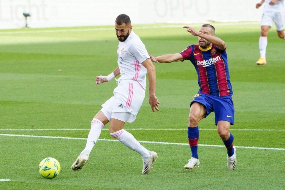 Karim Benzema i Jordi Alba