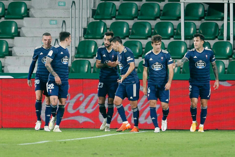 Piłkarze Celty Vigo