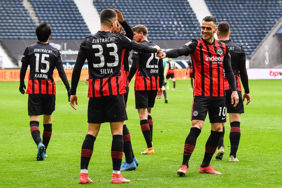 Piłkarze Eintrachtu