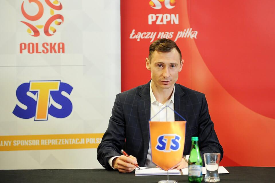 Sekretarz PZPN Maciej Sawicki