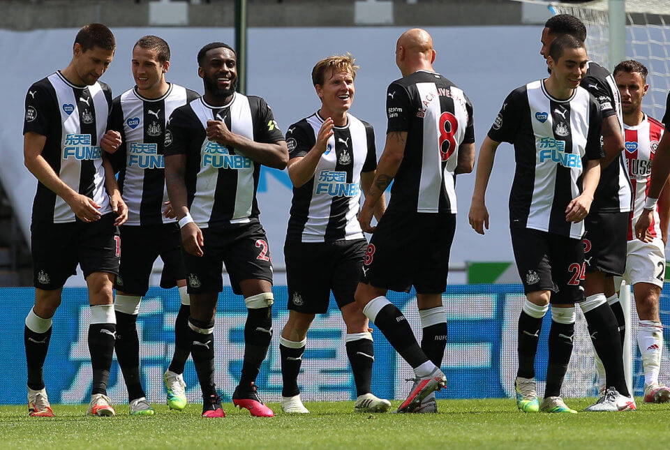Newcastle United - Sheffield United