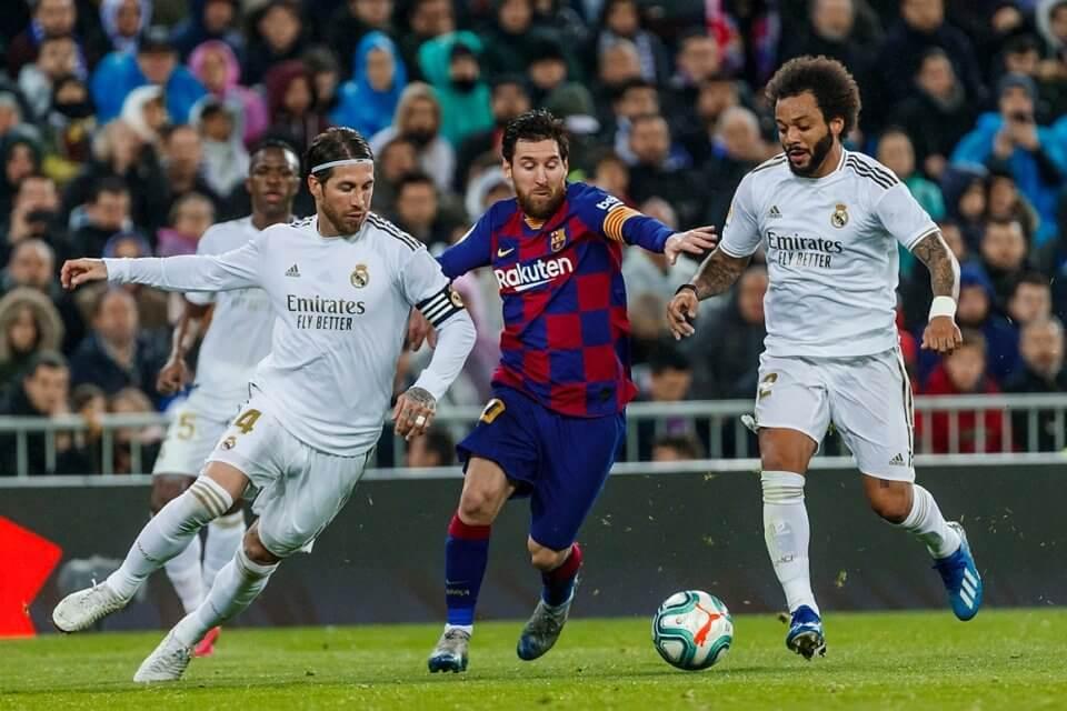 Sergio Ramos i Leo Messi