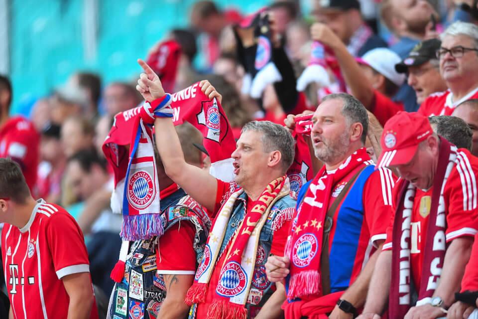 Kibice Bayernu Monachium