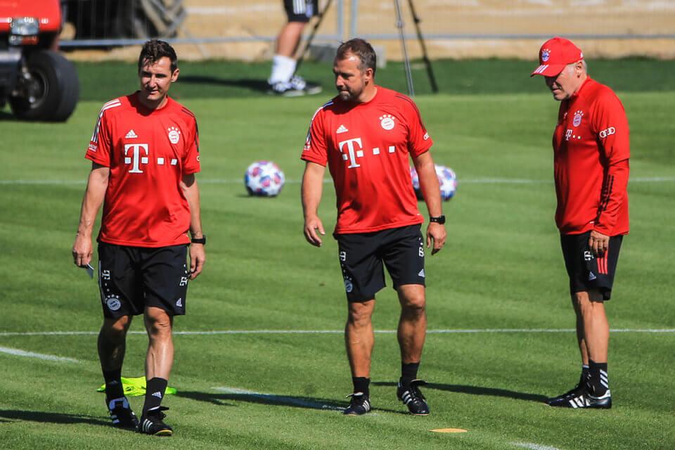 Miroslav Klose, Hansi Flick i Hermann Gerland