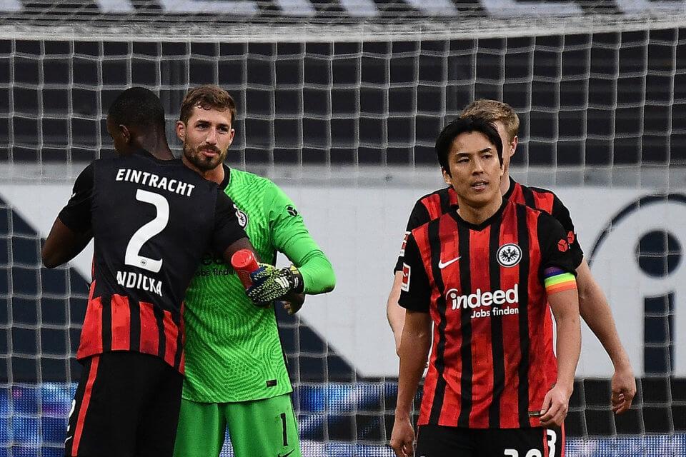 Piłkarze Eintracht Frankfurt