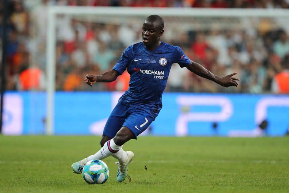 N'Golo Kante - piłkarz Chelsea