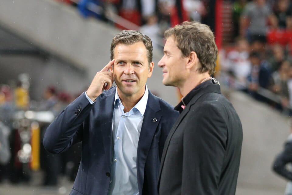 Jens Lehmann (z prawej)