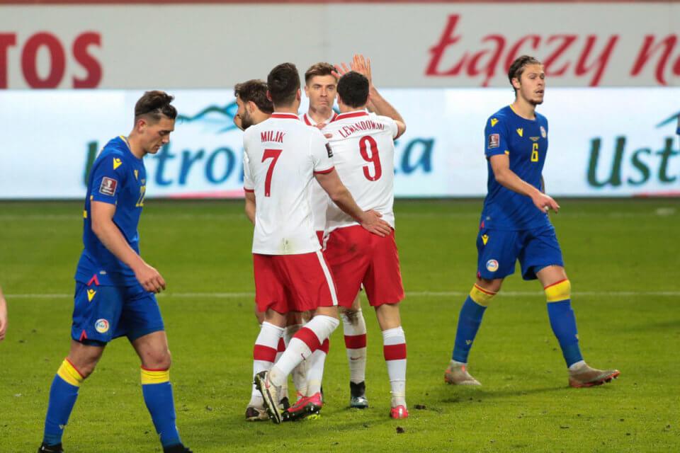 Polacy w meczu z Andorą