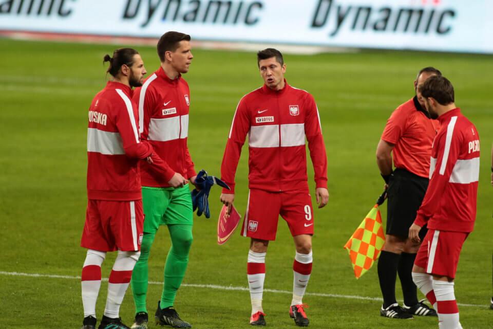 Trening przed meczem reprezentacji Polski z Andorą